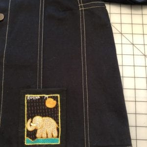 Jean Jacket Variations for the Tabula Rasa Jacket by Fit for Art Patterns, seam details right side