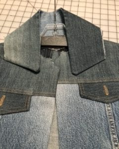 Jean Jacket Variations for the Tabula Rasa Jacket by Fit for Art Patterns, Classic Collar dark?