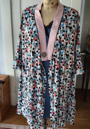 Tabula Rasa jacket Pattern, square armhole, Tabula Rasa KNit Tee