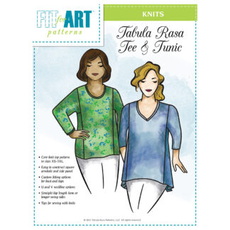 Knit Tee and Tunic Pattern Cover