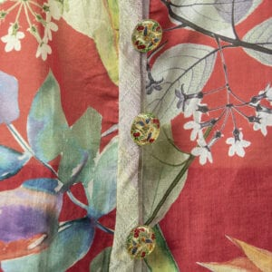 Colorful Summer Jacket Close-up