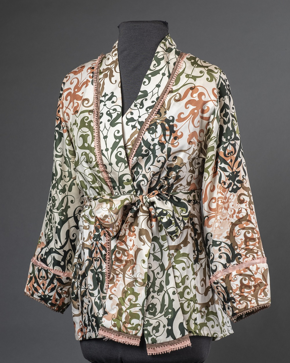 Sarah's sashed blouse