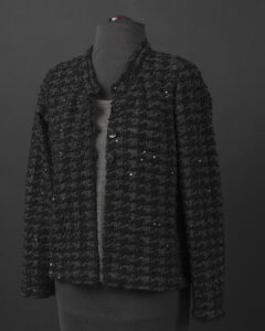 Sparkly Tailored Cardigan
