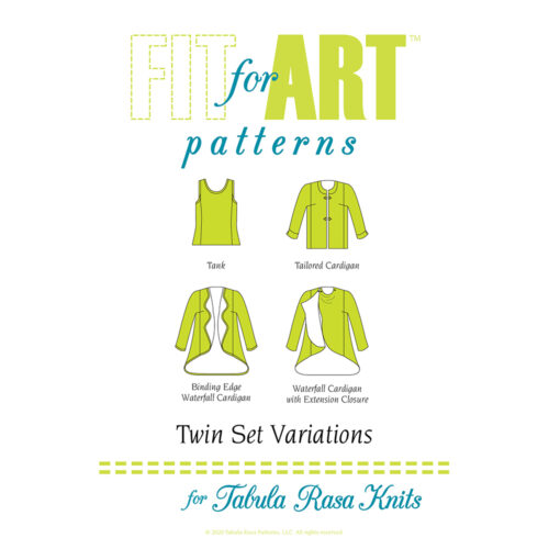 front cover of the pattern