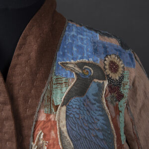 Boro for the Birds - detail view